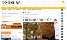 Presseartikel Rheinische Post Düsselorf, Wuppertal, Remscheid, Solingen, Erkrath, Langenfeld, Haan, Hilden